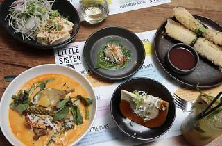 Vietnamese dishes from the restaurant Little Sister