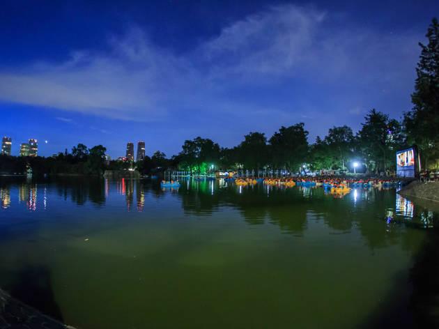 Lanchacinema (Foto: Cortesía SEDEMA)