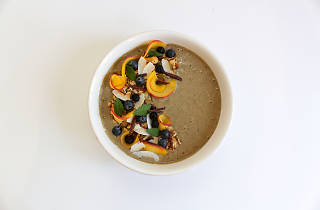 Smoothie bowl do Óbio