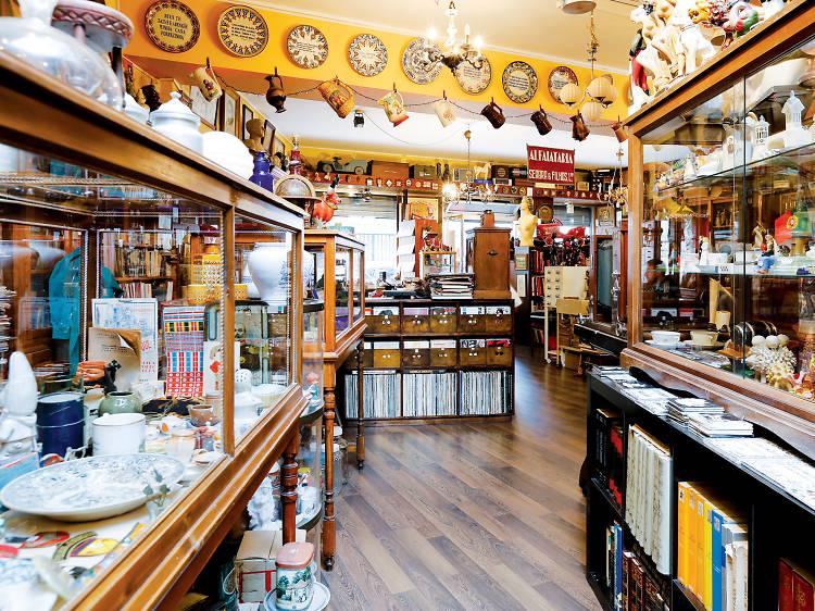 As melhores lojas de antiguidades no Porto