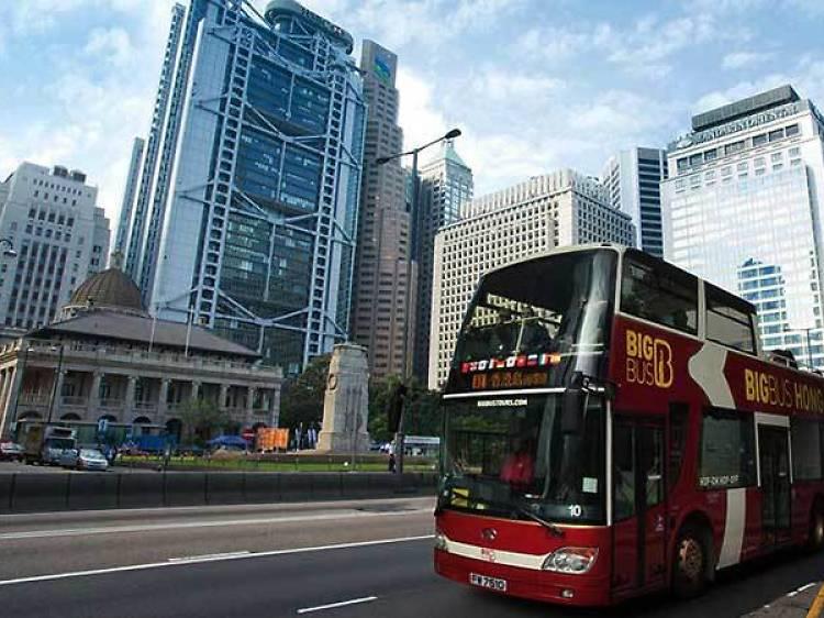 Hong Kong Island Bus Tours
