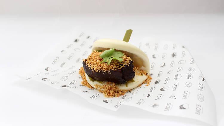 Gua Bao do BAO'S - taiwanese burger