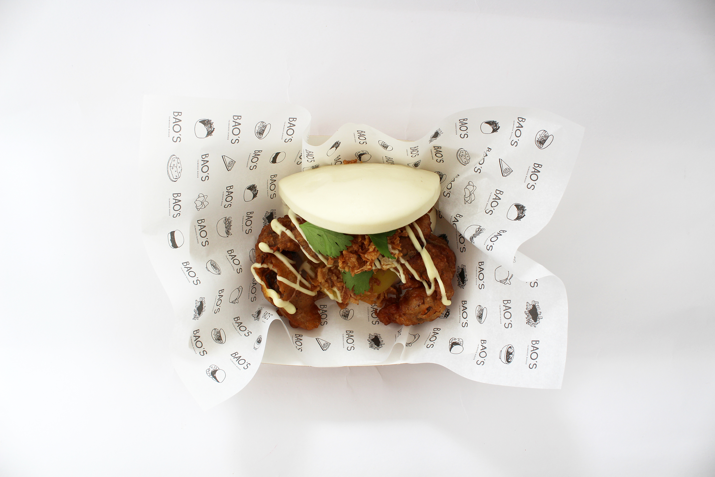 Crab Bao do BAO'S - taiwanese burger
