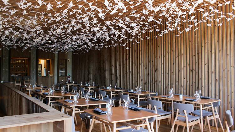 Restaurante, Ikeda, Cozinha Japonesa, Origami