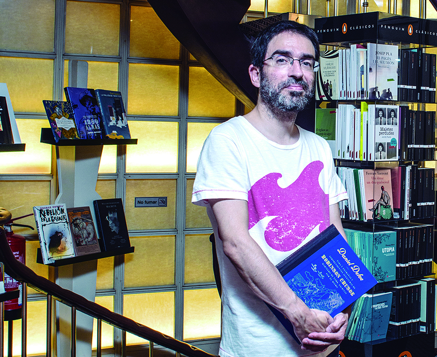 Xavier Vidal, llibreter de la NoLlegiu