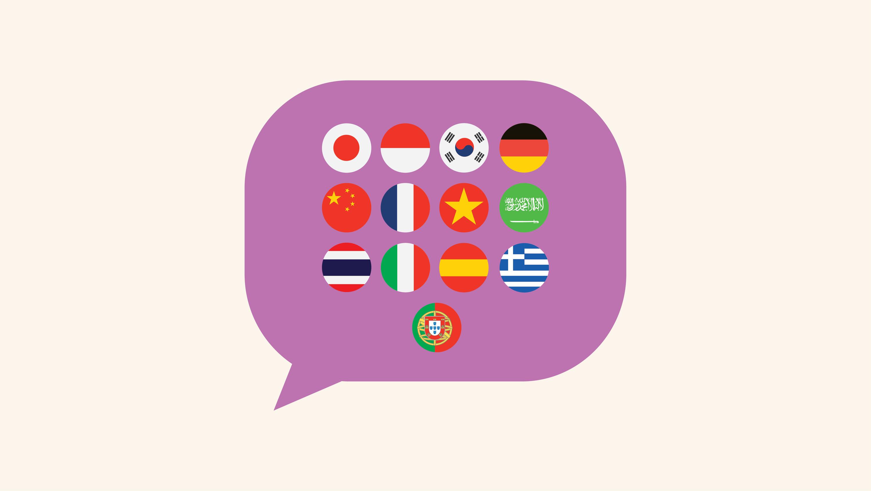 Language illustration for Sydney Community College