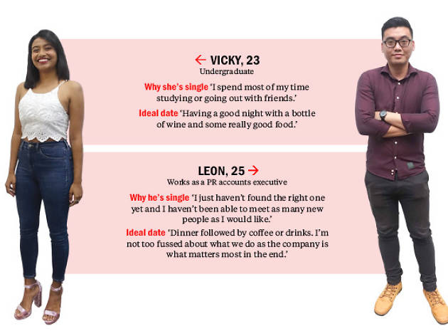 Find me a date: Leon and Vicky
