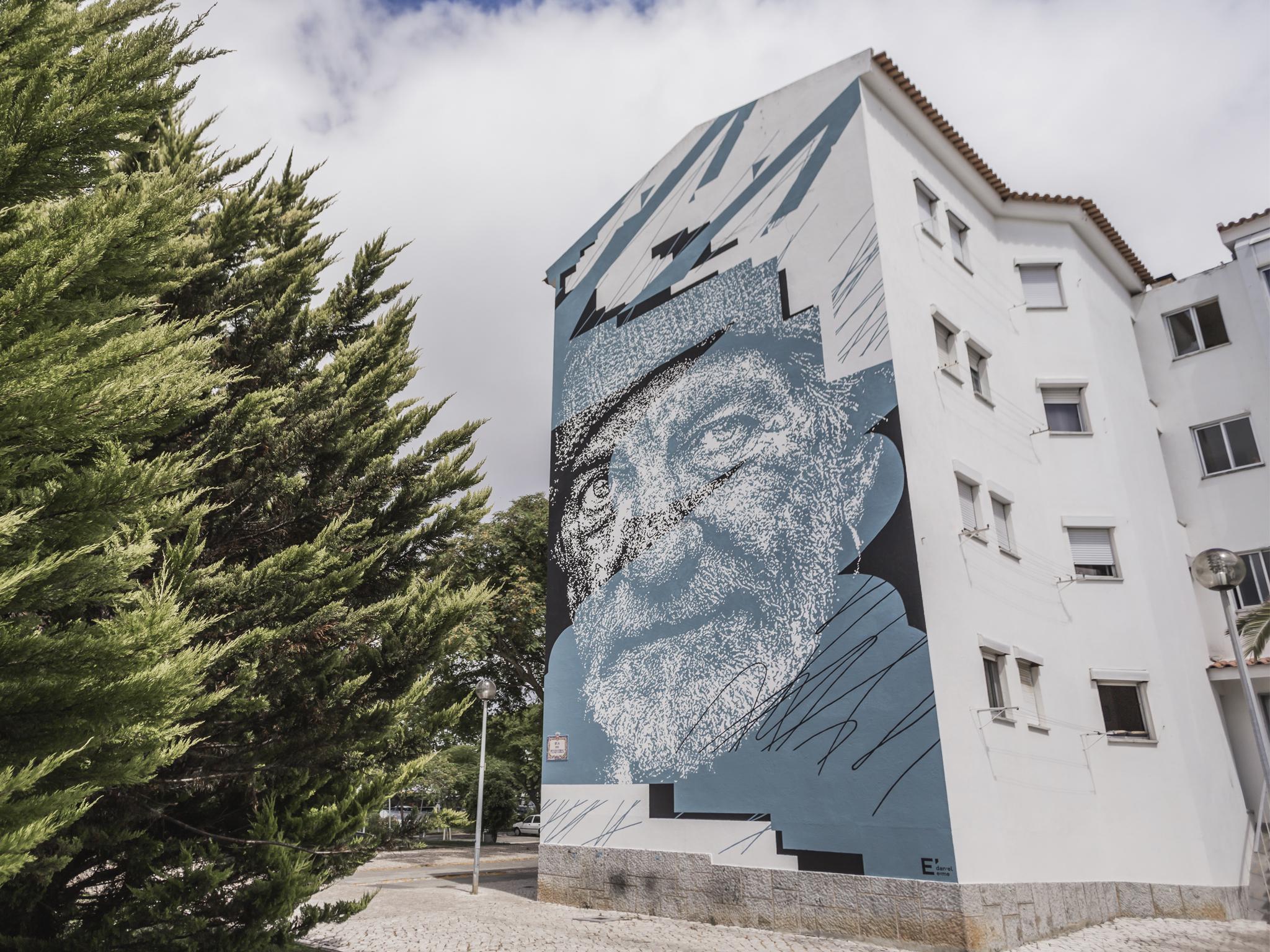 Streetart, Festival Muraliza, Cascais, Daniel Eme 2017