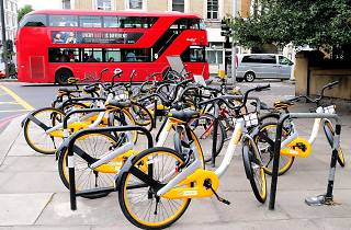 oBike dockless hire bicycles in London