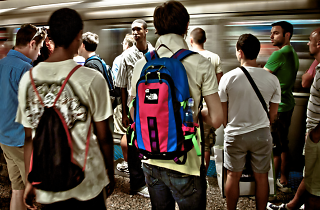 People who wear backpacks on the subway are the worst New Yorkers