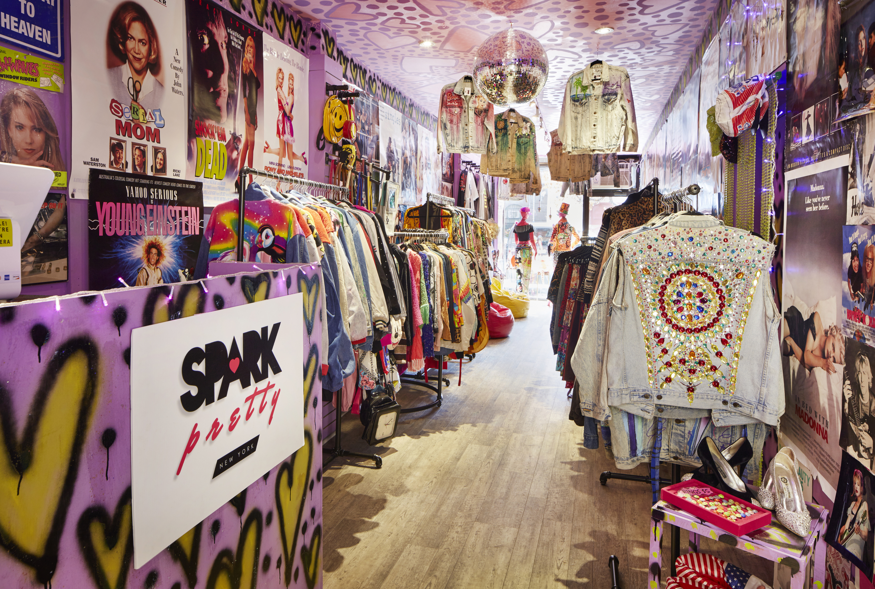 This New Vintage Shop In Nyc Sells Lisa Frank Denim Jackets