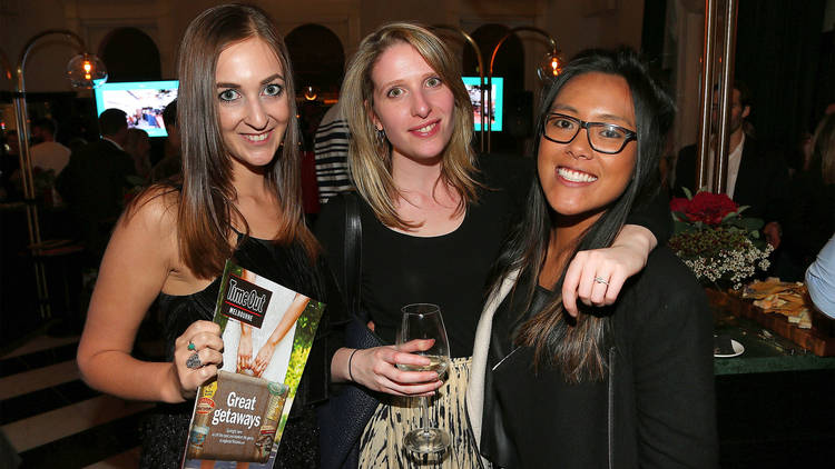 Time Out Melbourne Food Awards 2016 group of ladies