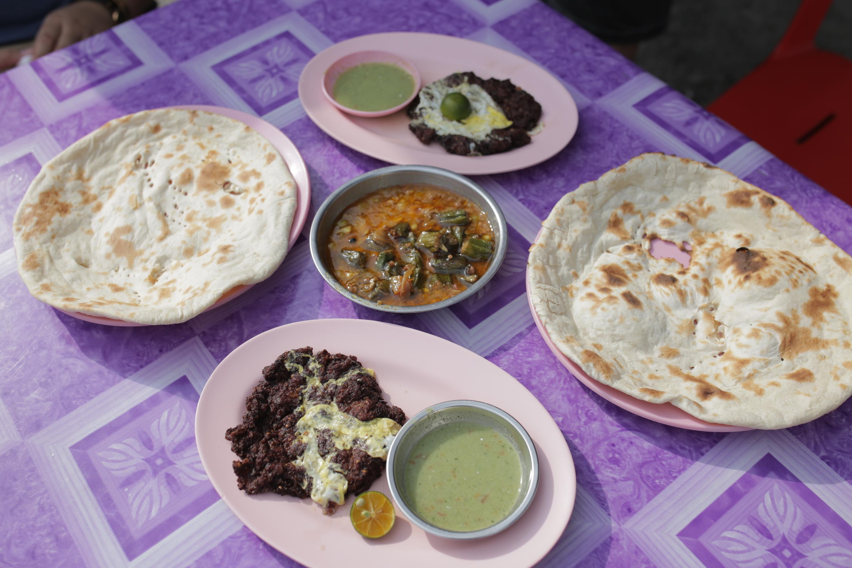 Chapli kebab stall