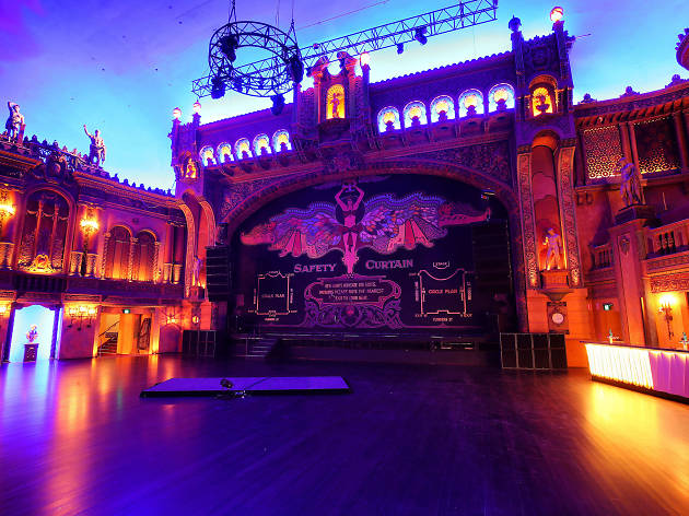Forum Theatre stage