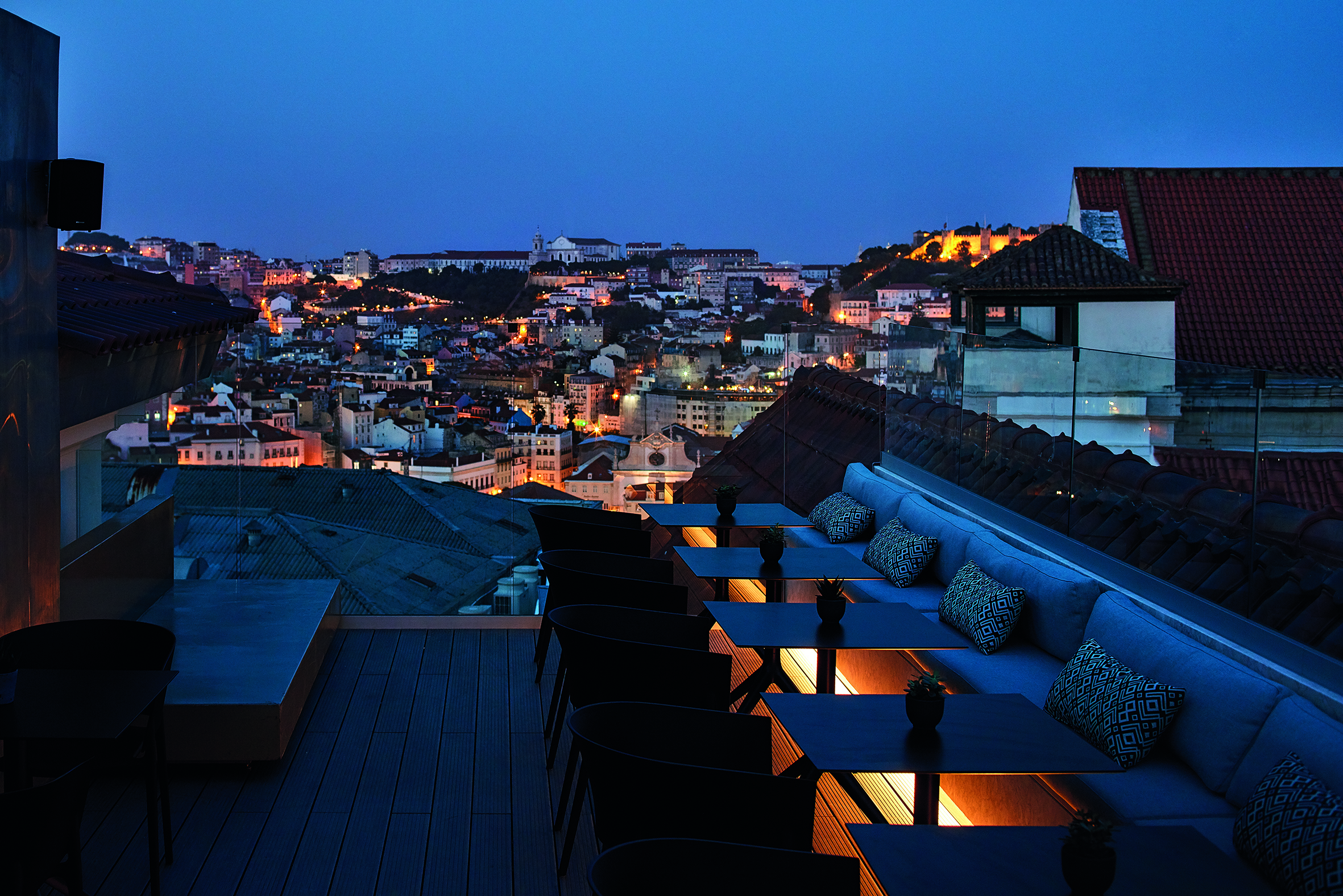 Rooftop do The Lumiares Hotel & Spa
