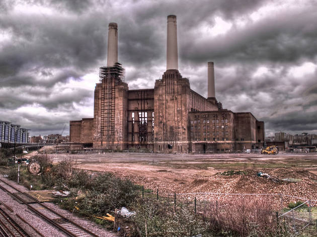 Image result for inside battersea power station