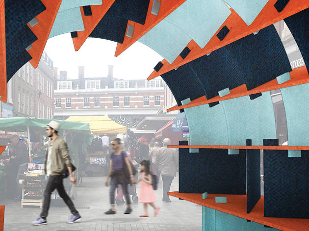 Brixton Design Trail 2017: The Silent Arch, Bharat and Jean