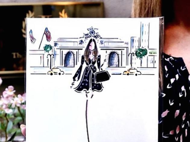 Triumph Hotels Fashion Sketch Event