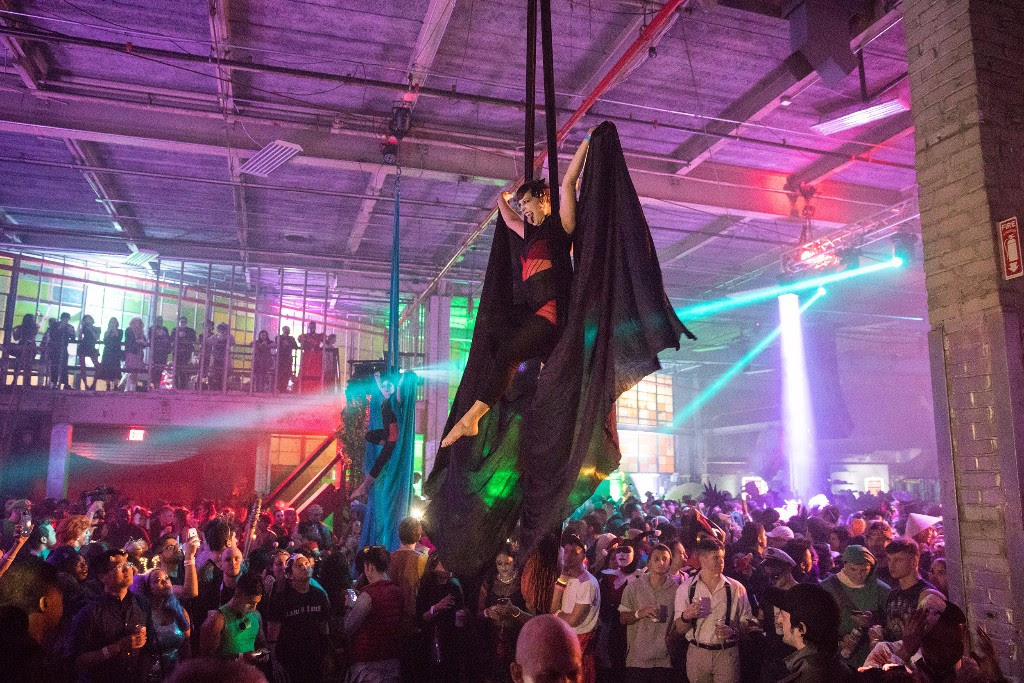 Fatboy Slim is headlining a Halloween party in a Williamsburg warehouse