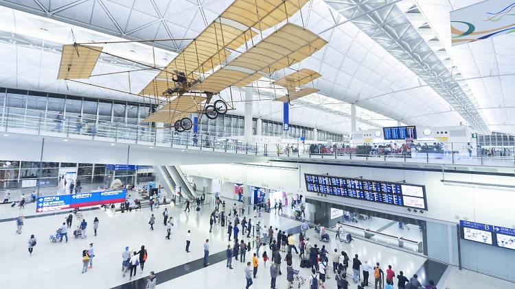 Hong Kong International Airport Arrival Hall