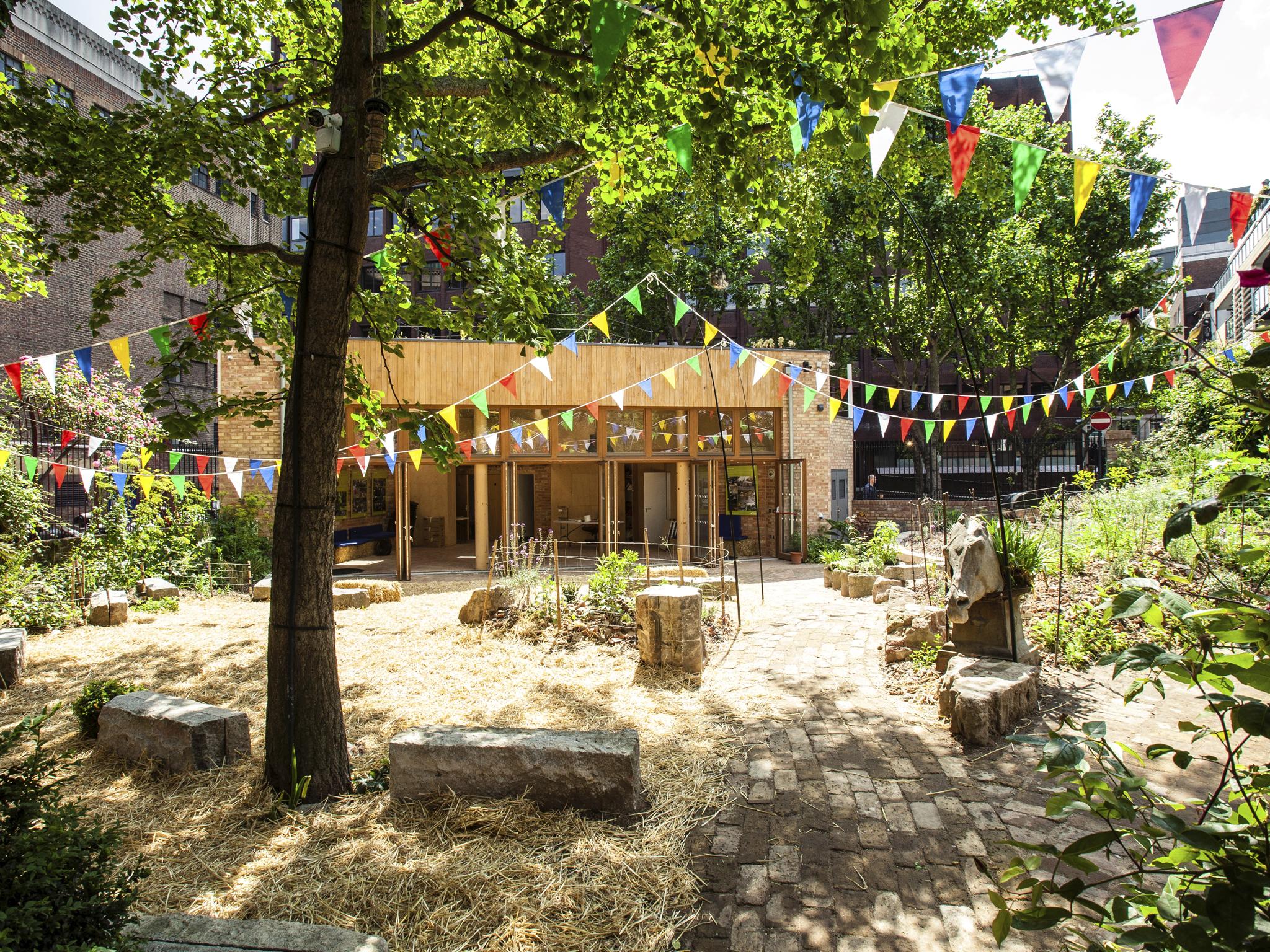jardim comunitário