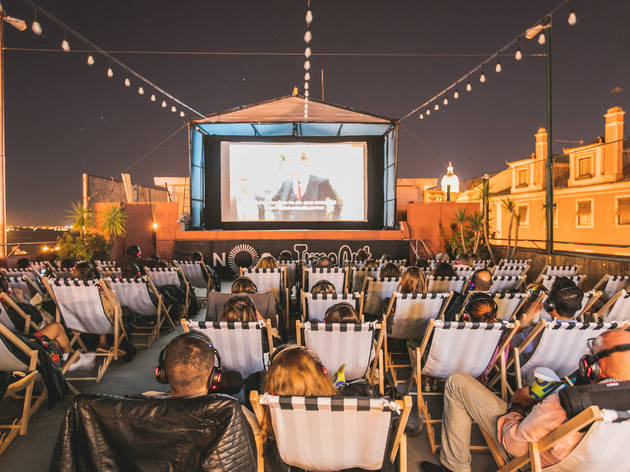 Time Out Pop Up Cinema by NOS