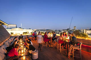 aqua rooftop, best bars in soho