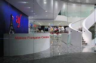 Interior of Alliance Française de Sydney