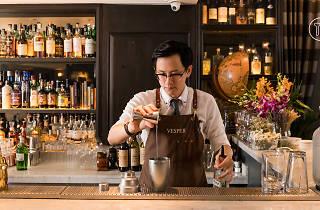 Palm Vesper bartender