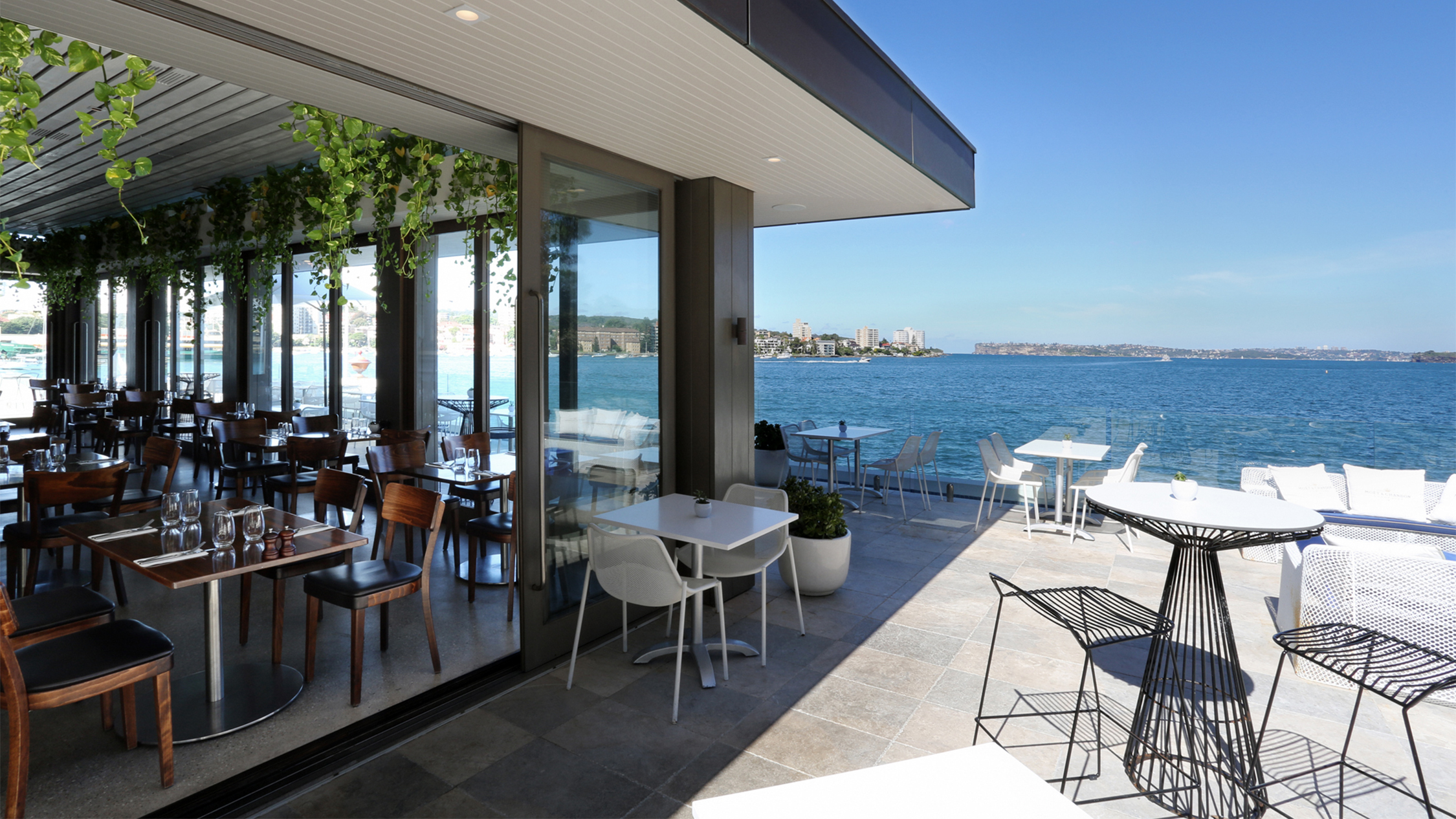 Exterior view of water 1 at Manly Pavilion