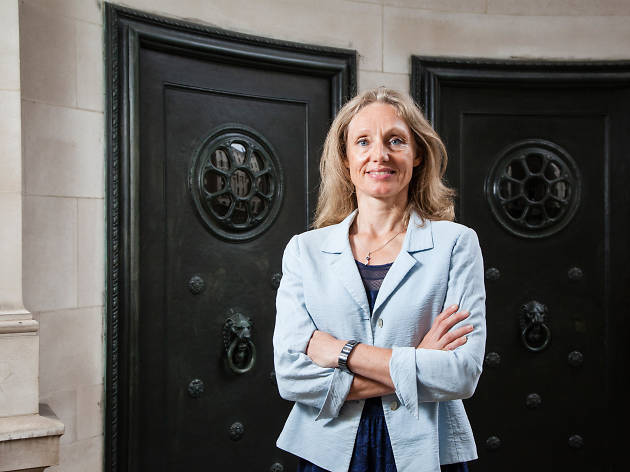 Victoria Cleland, chief cashier at the Bank of England
