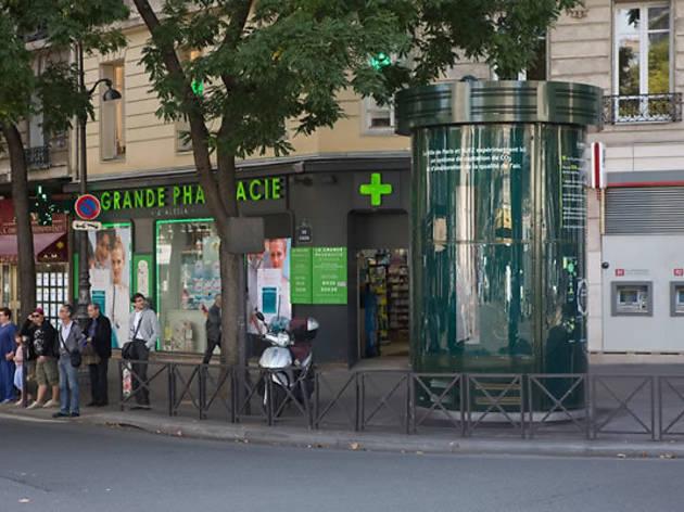 Des colonnes Morris pour dépolluer Paris