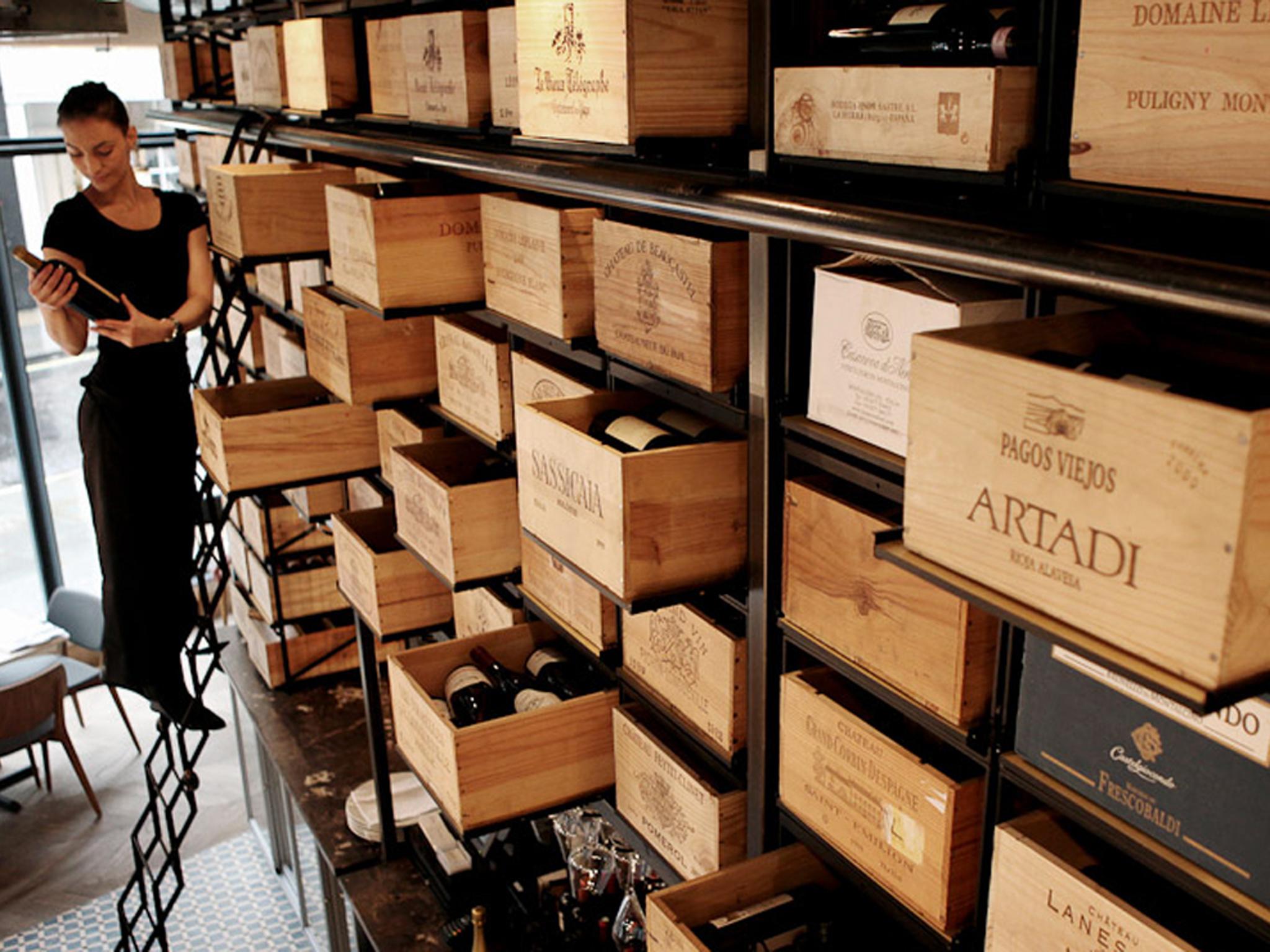 london's best wine bars, 28-50 wine workshop