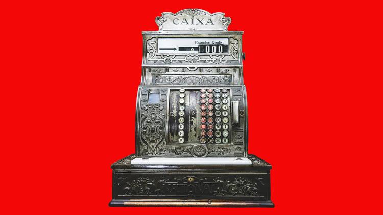 Máquina Registadora da Bijou