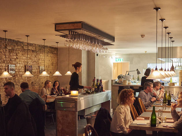 best wine bars in london, laughing heart