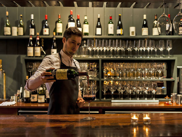 best wine bars in london, noble rot