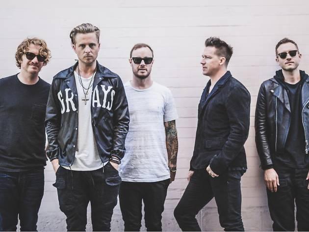 OneRepublic (Drew Brown far left)