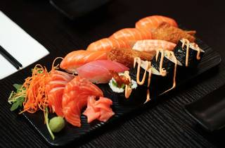 Sushi and Sashimi at Okami Greensborough