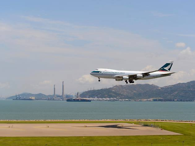 Cathay airplane