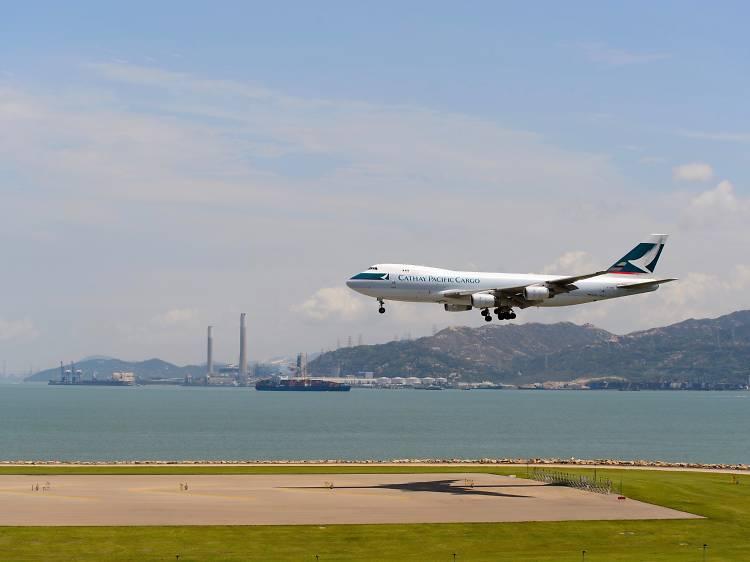 香港機場展望台