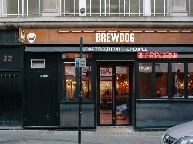 soho's best pubs, brewdog