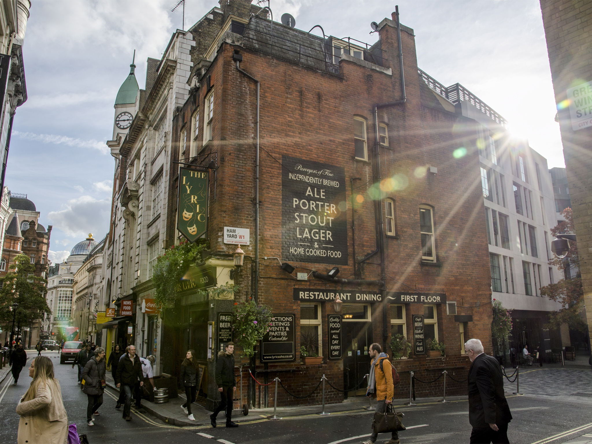 best pubs in soho, the lyric