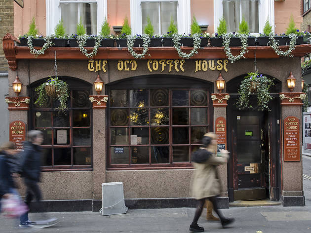best pubs in soho, old coffee house