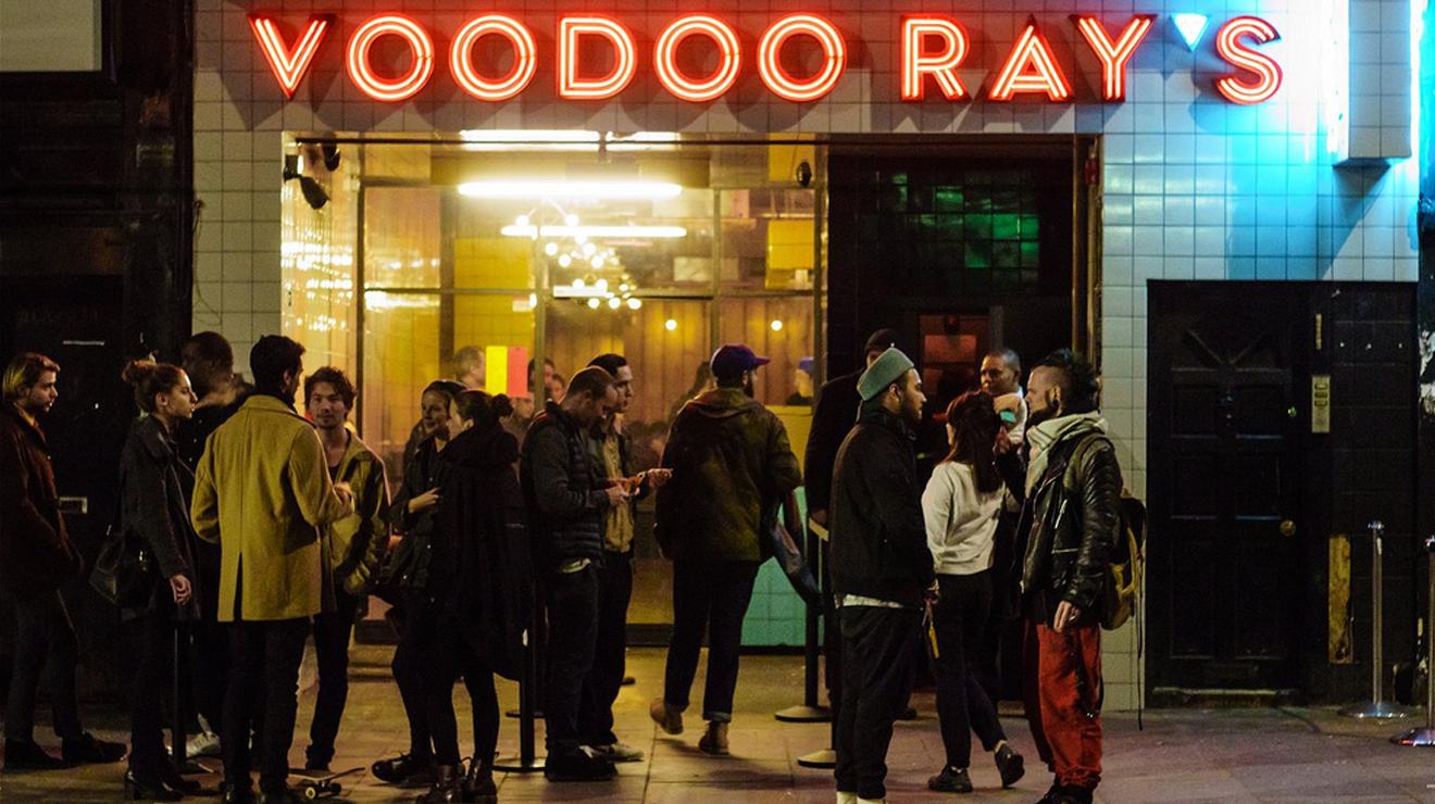 Voodoo Ray's Dalston