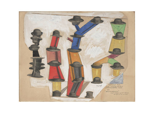 Max Ernst, The Hat Makes the Man (C'est le chapeau qui fait l'homme), 1920