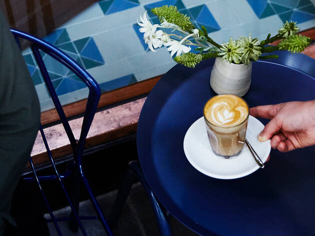 Coffee at Market Lane Coffee, Collins Street