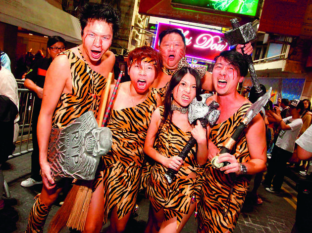 Lan Kwai Fong Halloween Street Party
