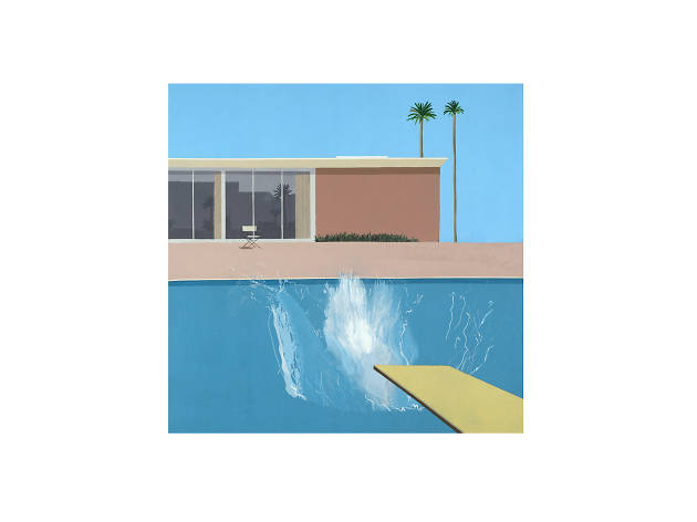 David Hockney, A Bigger Splash, 1967