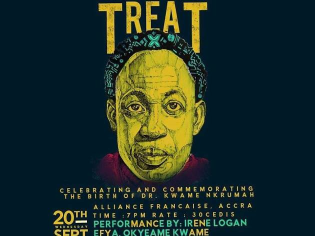 Founder's Treat at Alliance Francaise d'Accra