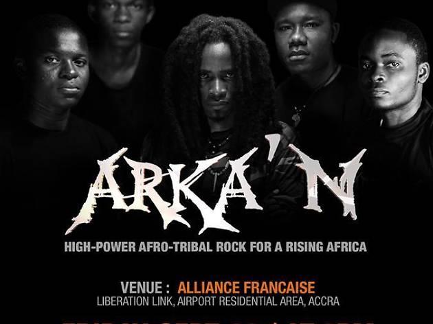 Arka'N at Alliance Francaise